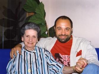 Emilio Vittozzi ed Elisa Springer in una foto di qualche anno fa