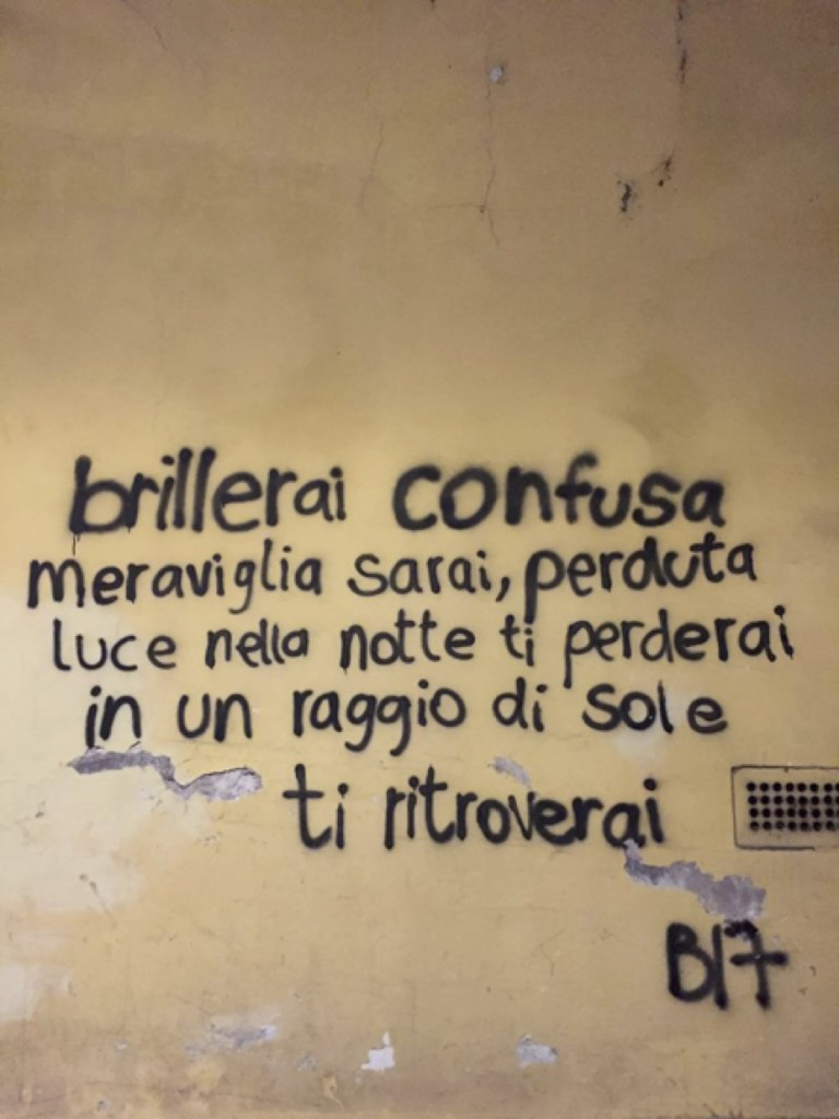 La poesia per Michela Di Pompeo. E' stata cancellata