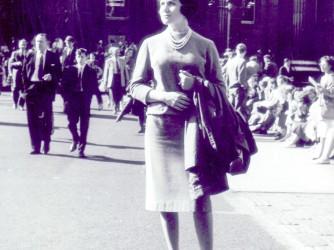 Giuliana a Londra nel 1958, una donna decisa, sicura di sé