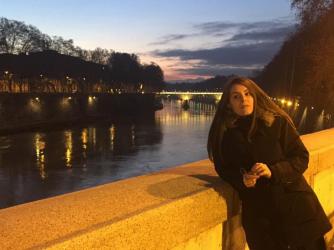 Martina vive in Francia, ma considera Roma la città più bella del mondo
