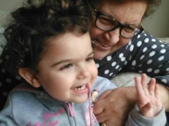 Un'immagine felice, Minerva con la nipotina Livia