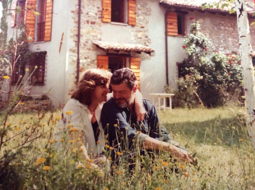 Daniela e Roberto ion una foto di qualche anno fa che esprime tutta la complicità che c'era fra loro
