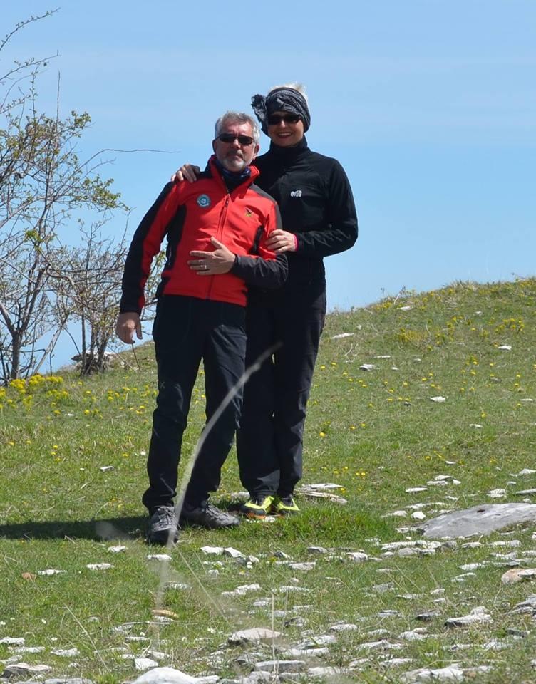 Valerio e Maria Cristina amano la montagna