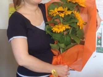 Marianna festeggiata in classe