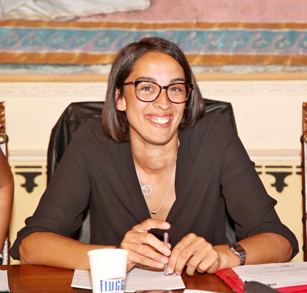 Martina fa politica da quando aveva 19 anni