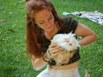 Caterina ama gli animali
