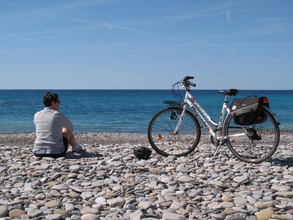 """L. ha mandato questa sua foto: """"Voglio pedalare finché i diritti non varranno per tutti"""""""