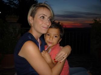 Paola e sua figlia Mila
