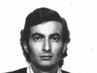 """Claudio nel 1973. """"La foto rende bene lo spirito del tempo"""""""