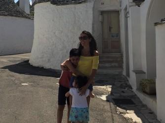 """Barbara ha dato un nome a questa foto con i suoi figli: """"La felicità"""""""