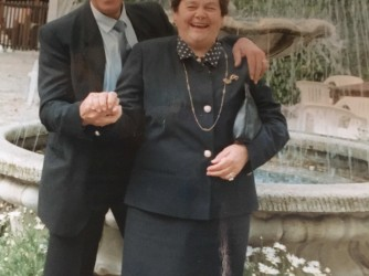 Silvano e sua moglie Albertina in una foto di anni fa