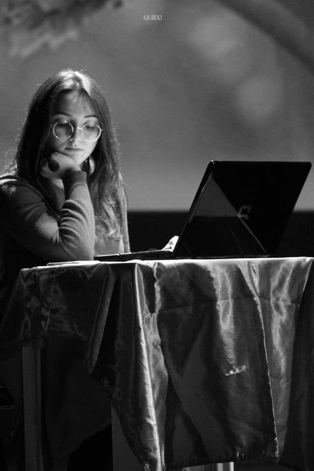 Martina in una bella foto di Alba Lorenzi