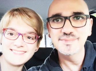 Valentina e Emanuele, i genitori di Mattia