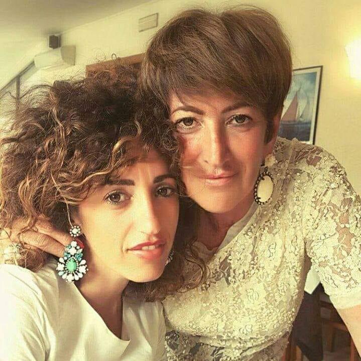 Federica e sua madre Lorena