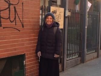 Margherita oggi è felice per la scuola delle figlie