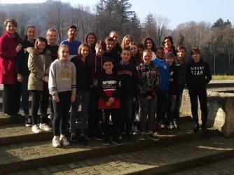 I ragazzi della seconda classe della scuola media di Novale Valdagno