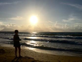 Carmela davanti al mare, la rappresentazione della sua solitudine
