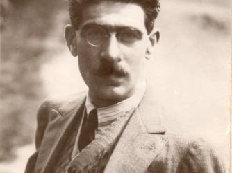 Levi Della Vida nel 1926, al tempo del manifesto di Croce