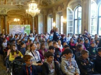 I bambini della scuola di Sordio a Varese