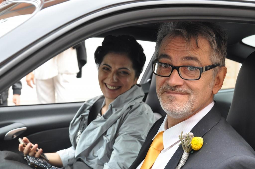 Gianfranco e Patrizia si sono sposati di recente
