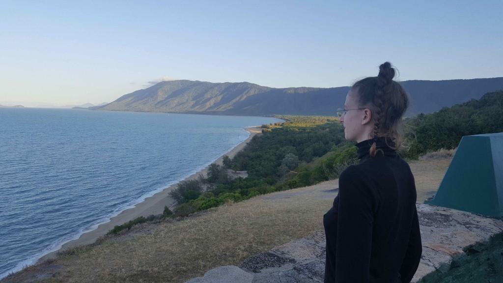 Sarah a Port Douglas, in Australia