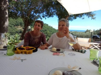Angela Paola con sua madre Maria che però tutti chiamavano Gina