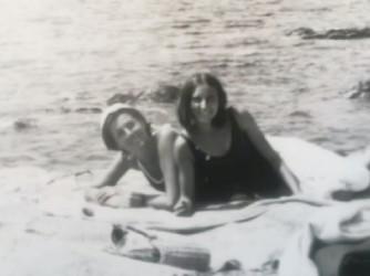 Cristiana con sua madre Margherita in una foto di tanti anni fa