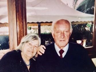 Nonno Viviano e nonna Nedda nel giorno delle loro nozze d'oro