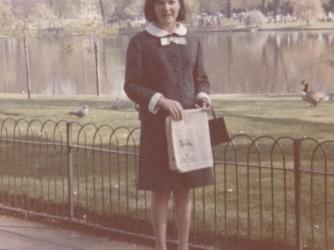 Tina a Londra nel 1966, aveva poco più di 16 anni