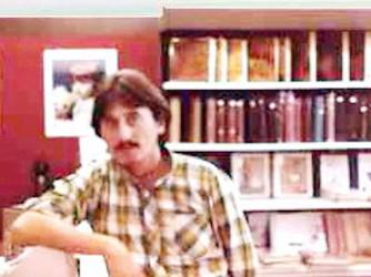 Pino nel 1974, all'epoca del concorso e del viaggio in Afghanistan