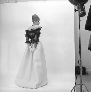 M_Evening dress, Cristóbal Balenciaga, Paris, 1962. Photograph by Cecil Beaton, 1971 © Cecil Beaton Studio Archive at Sotheby's