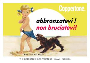 Pubblicità Coppertone