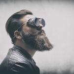 Tipico esempio di barba hipster