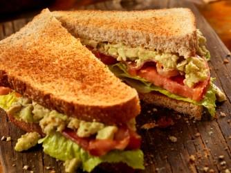 Avocado, BLT Sandwich