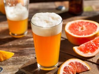 Sour Grapefruit Craft Beer