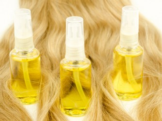 Oil hair care