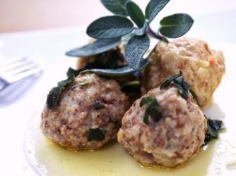 Meatballs: Canederli