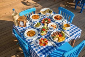 Turkish Lunch Table