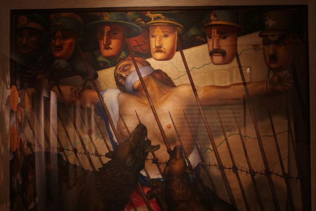 Allegoria della Slovenia oppressa dagli stranieri (Museo di Storia Contemporanea)