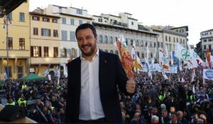 Salvini a Firenze