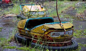 Pripyat amusement park near Chernobyl