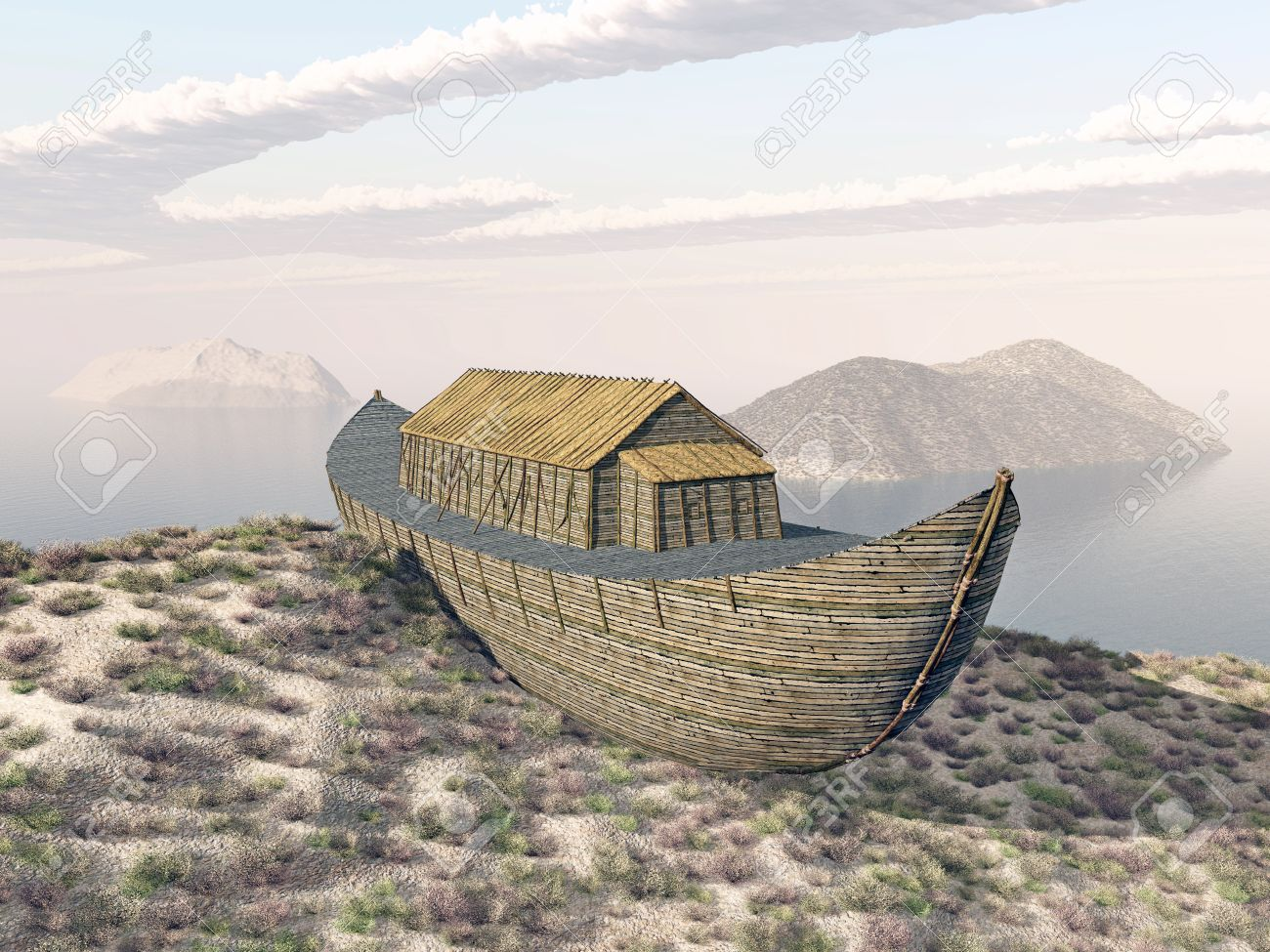 46909150-arca-di-noè-sul-monte-ararat