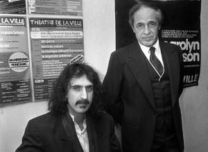 Frank Zappa e Pierre Boulez
