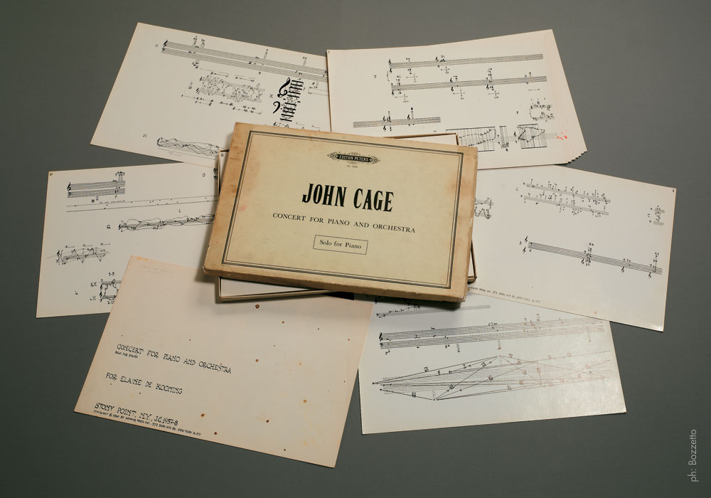 "John Cage - ""Concert for Piano and Orchestra. Solo for Piano"", 1960 - Edition Peters"