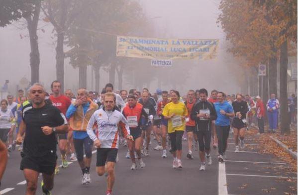 La partenza nella nebbia - anno 2008