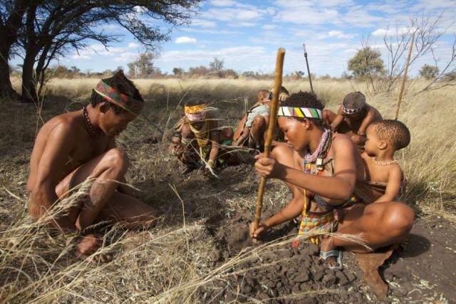 Una tribù con cui ha vissuto Jacopo in Africa