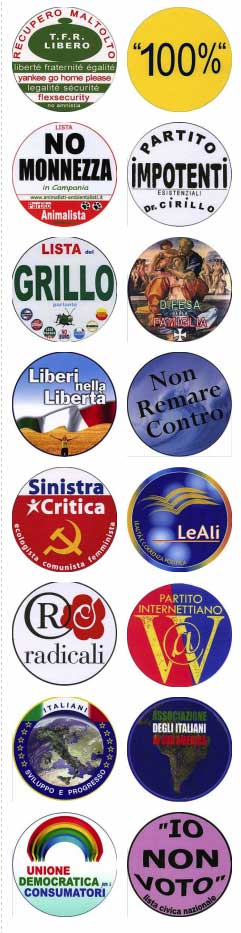italian parties