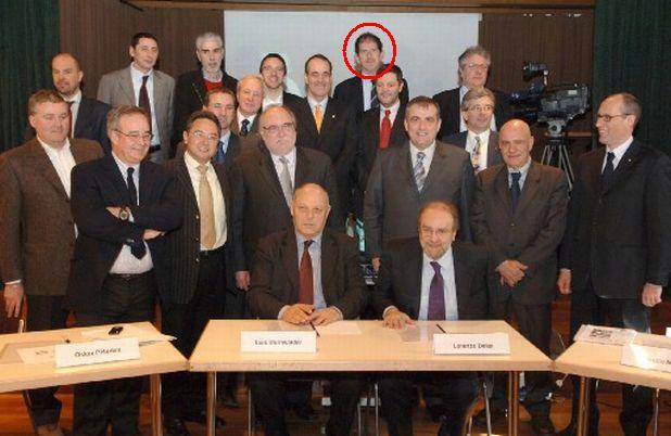Foto di gruppo del centro sinistra