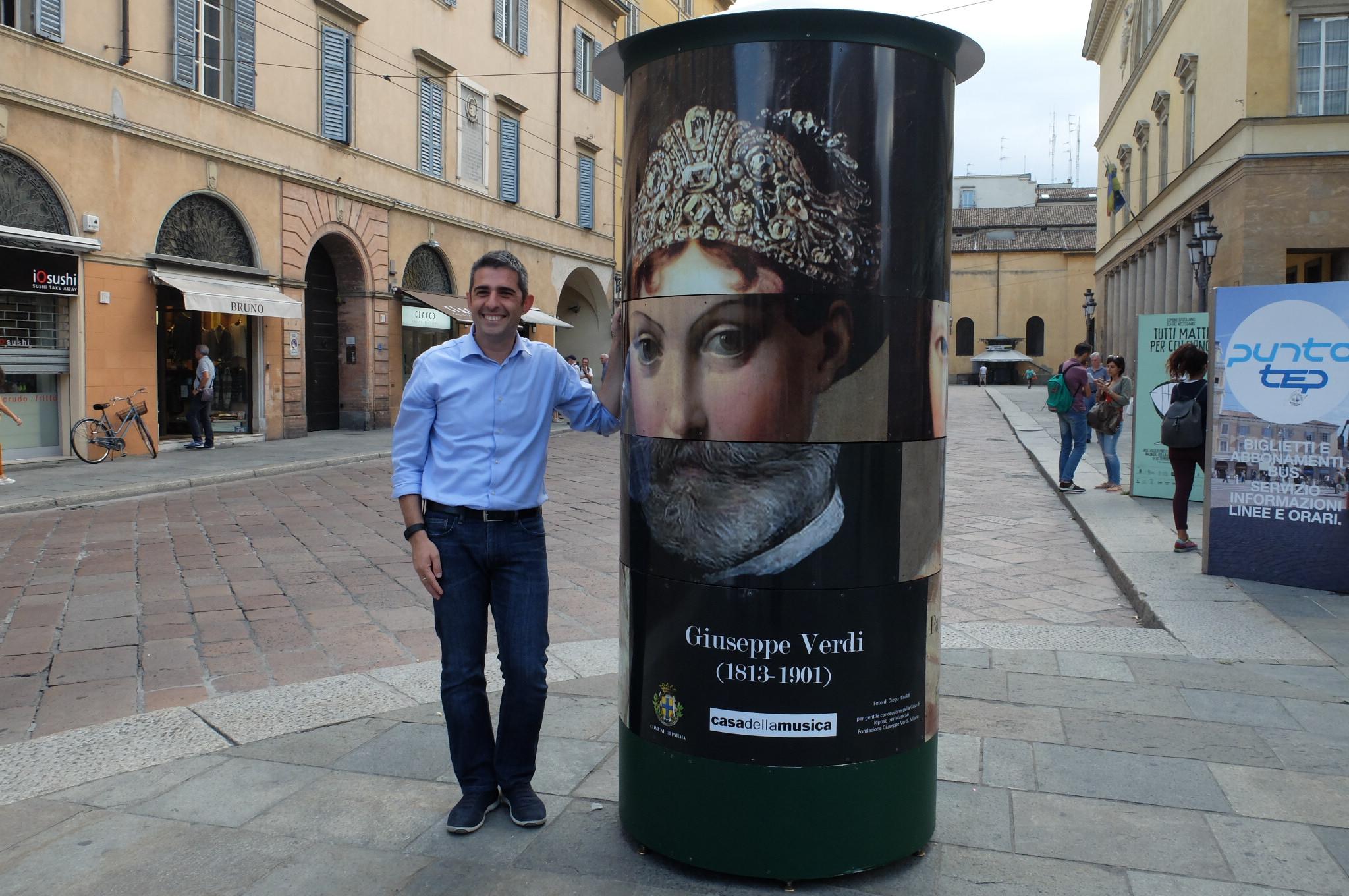 In centro a Parma arrivano i totem ludici