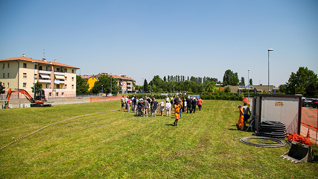 2018 06 21 Pizzarotti Alinovi Prima pietra Parco giochi San Prospero-8